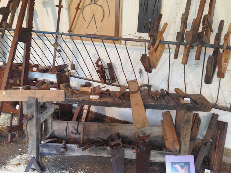 Exposition « Vieux Outils »